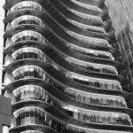 Modern office architecture on Avenida Insurgentes Sur, Mexico City
