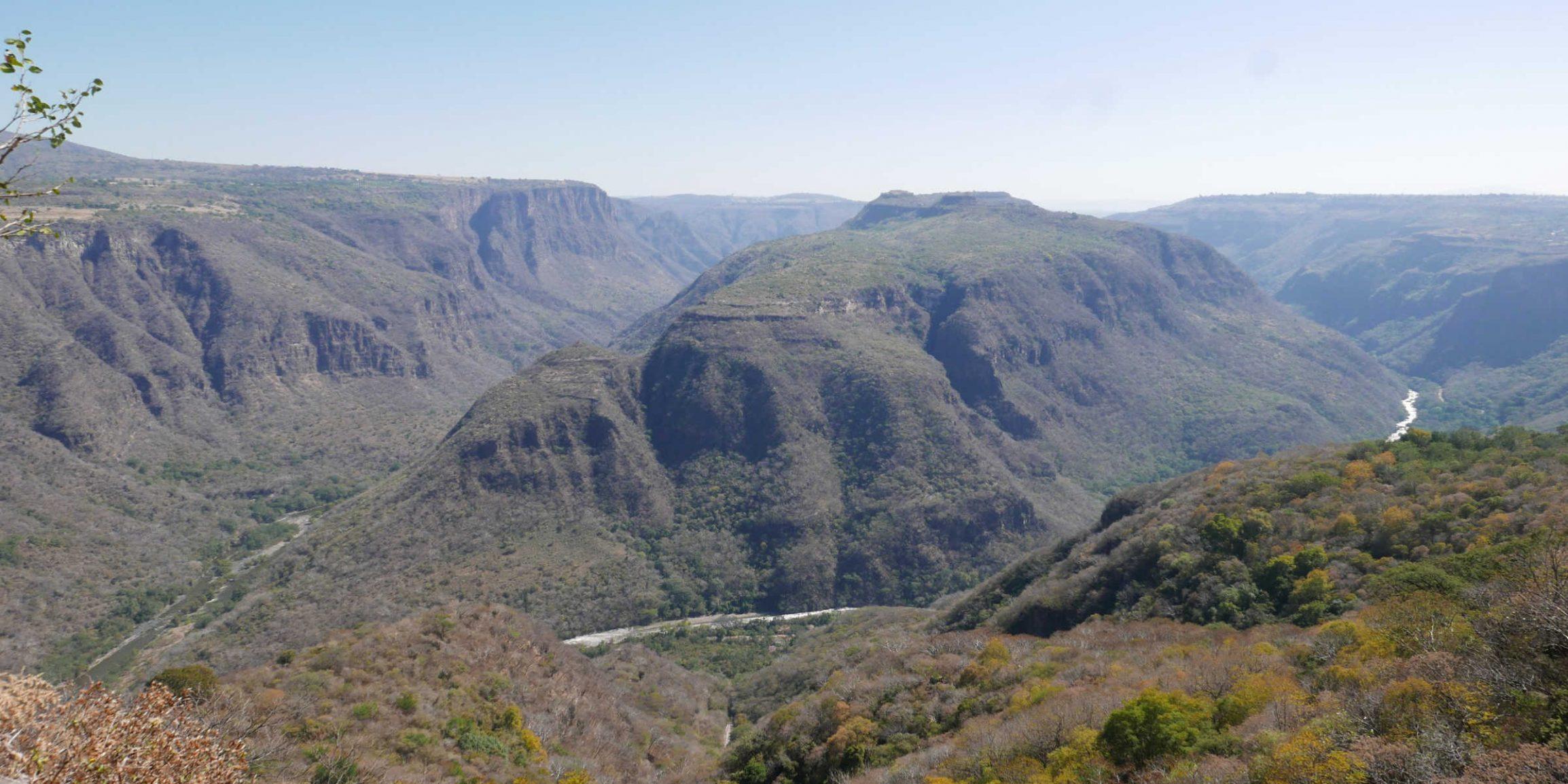 Barranca de Huentitan canyon in Guadalajara