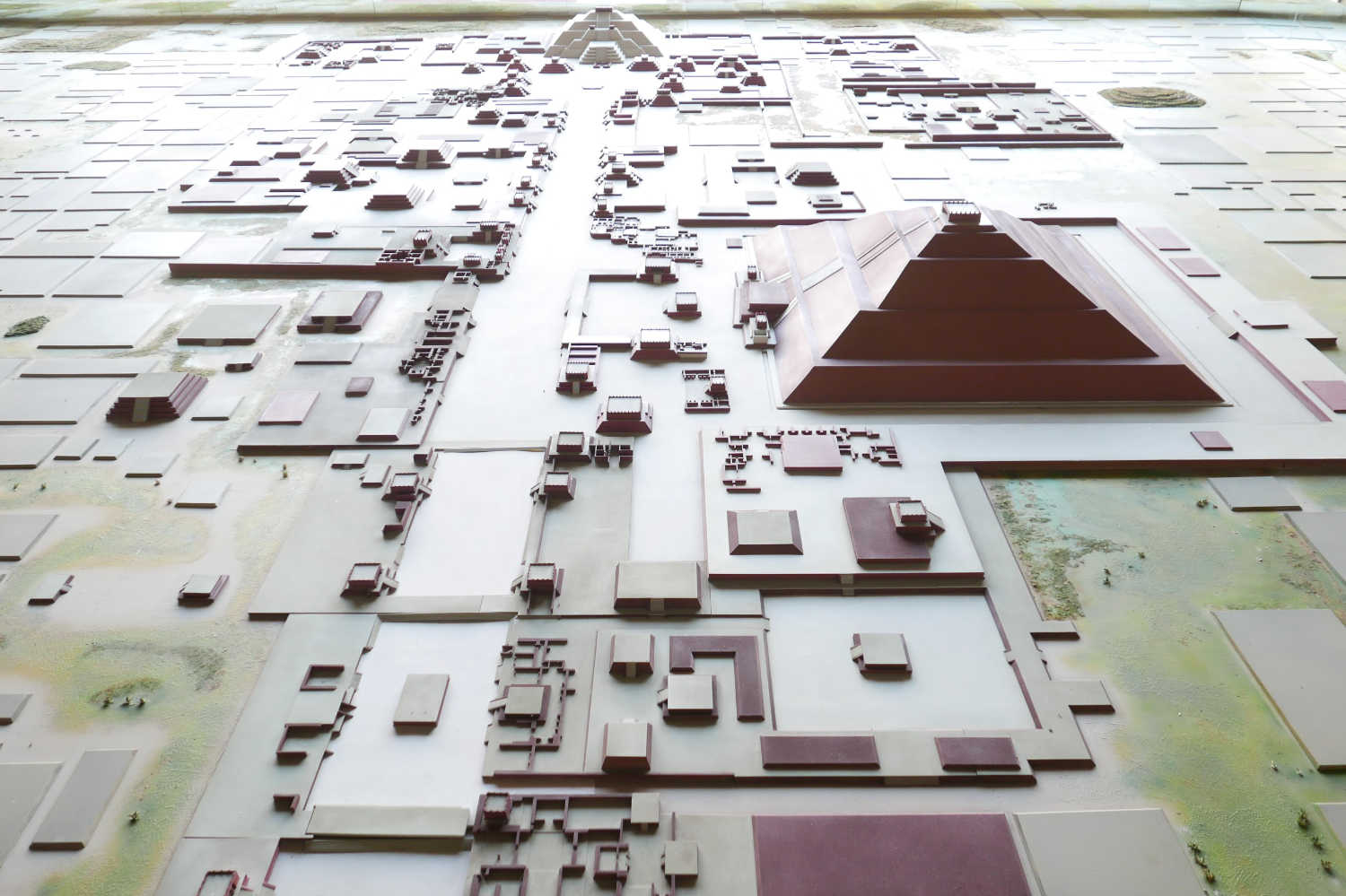 Miniature version of Teotihuacan in its museum