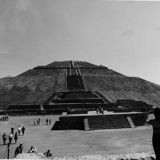 Pyramid of the Sun in Teotihuacan