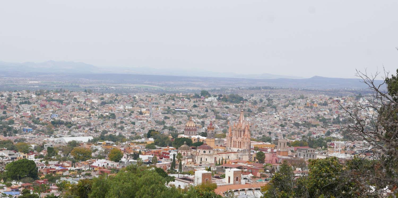 Panorama view of San Miguel de Allende