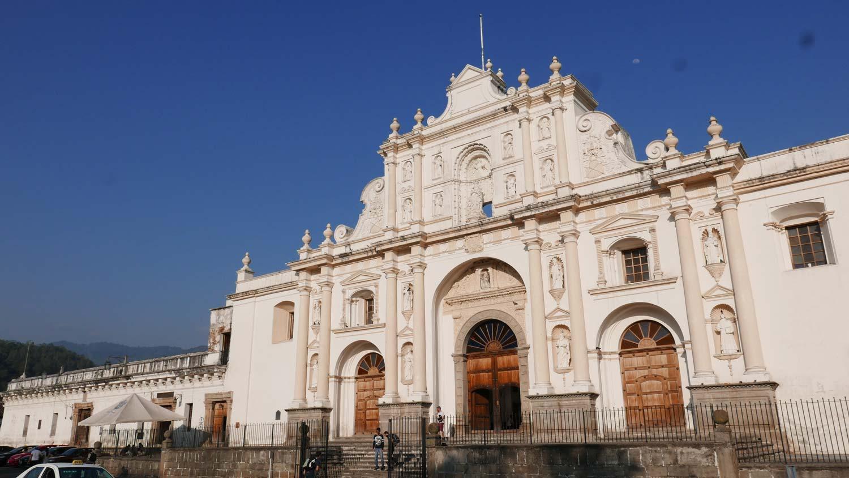 San Jose cathedral in Antigua Guatemala