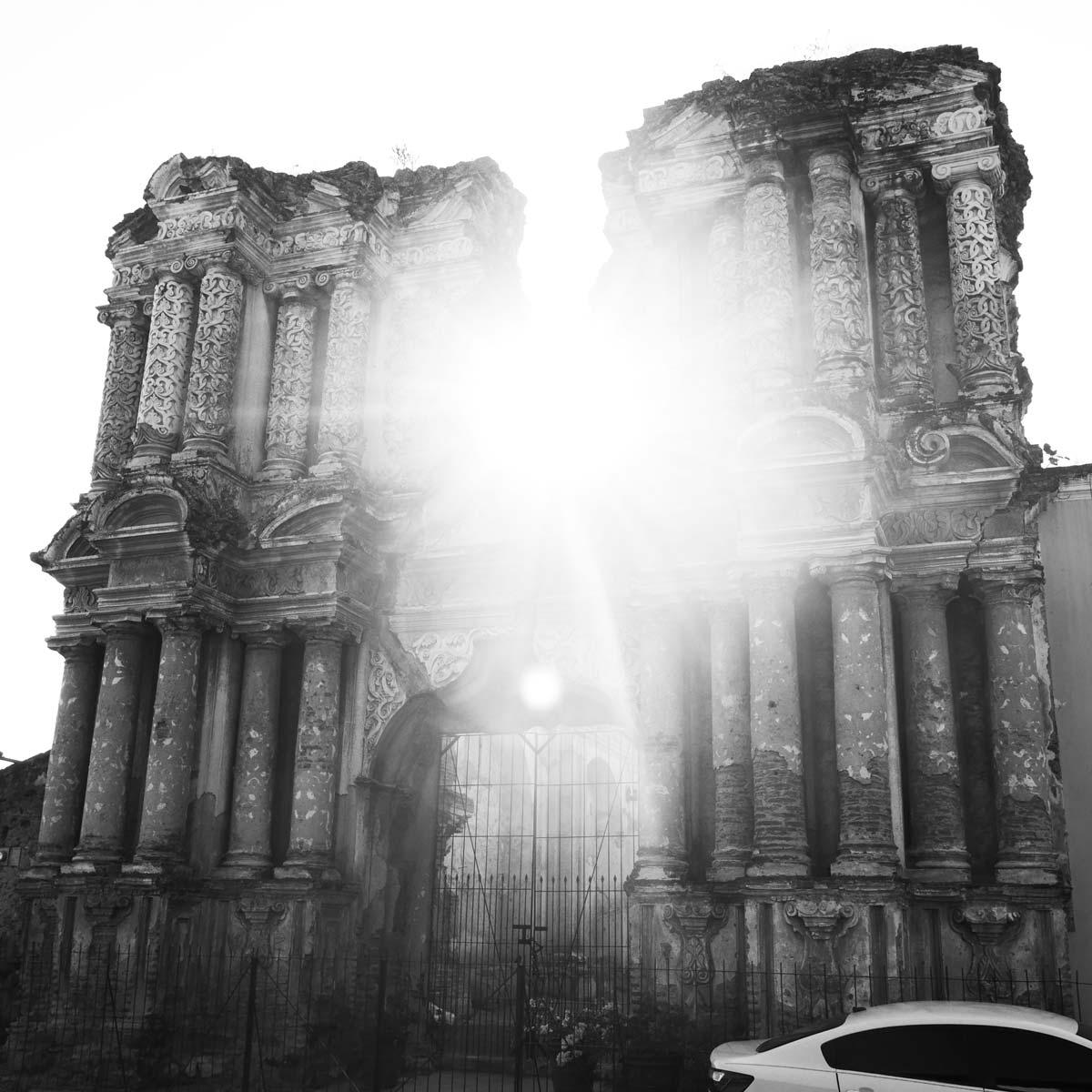 El Carmen church in Antigua Guatemala