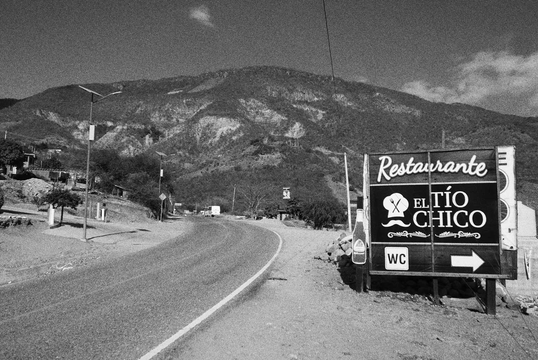 Dreamscapes. Heartland Mexico, the road from Puerto Escondido to Oaxaca