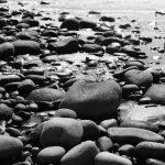 Stones at El Tunco beach, El Salvador