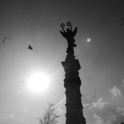 Statue on the Plaza Libertad in San Salvador