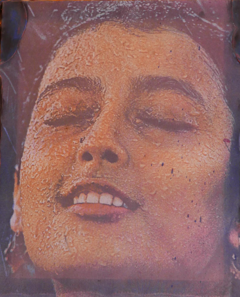 Frida Kahlo painting in the museum of modern art in Xela