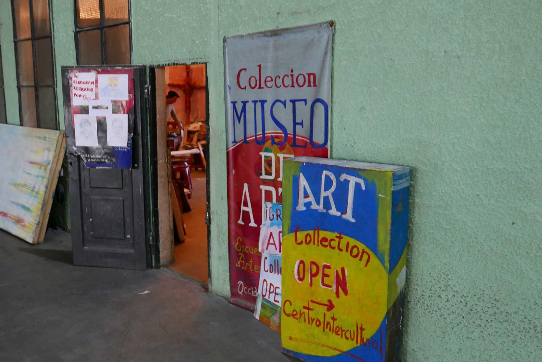 Art museum in Xela in the former railway building