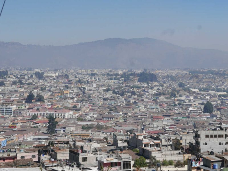 Panorama of Xela
