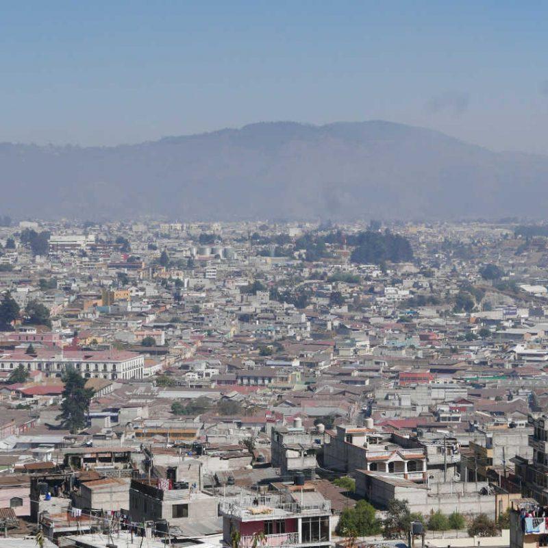 Panorama of Xela