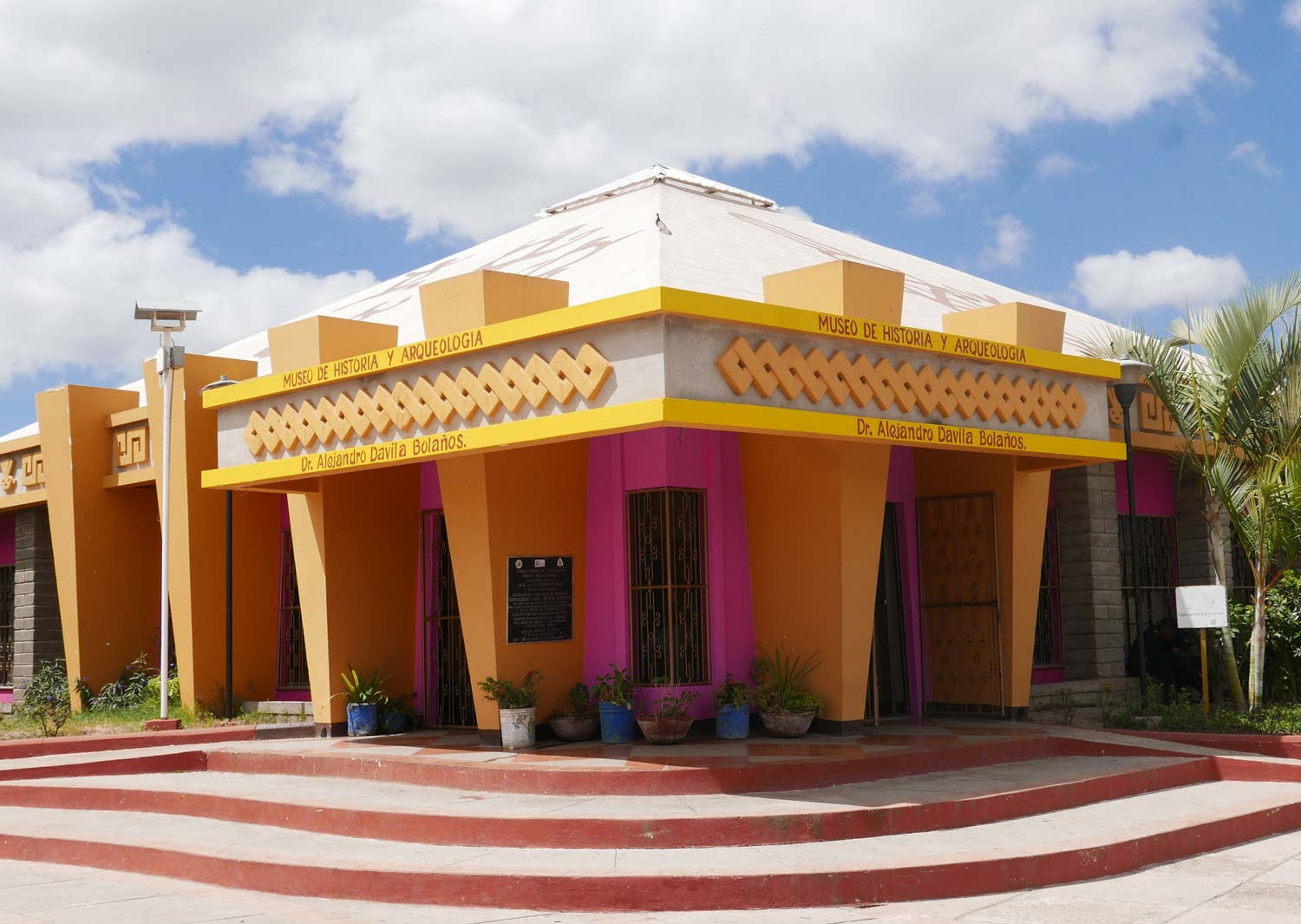 History and archeology museum in Esteli, Nicaragua