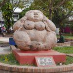Statue in Parque Central in Esteli, Nicaragua