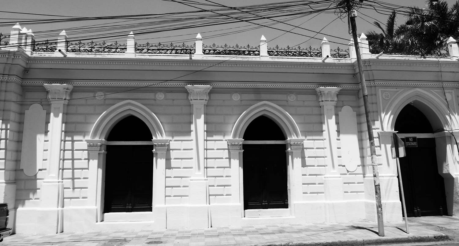 Colonial house in Leon, Nicaragua