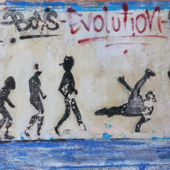 Graffiti in Leon, Nicaragua