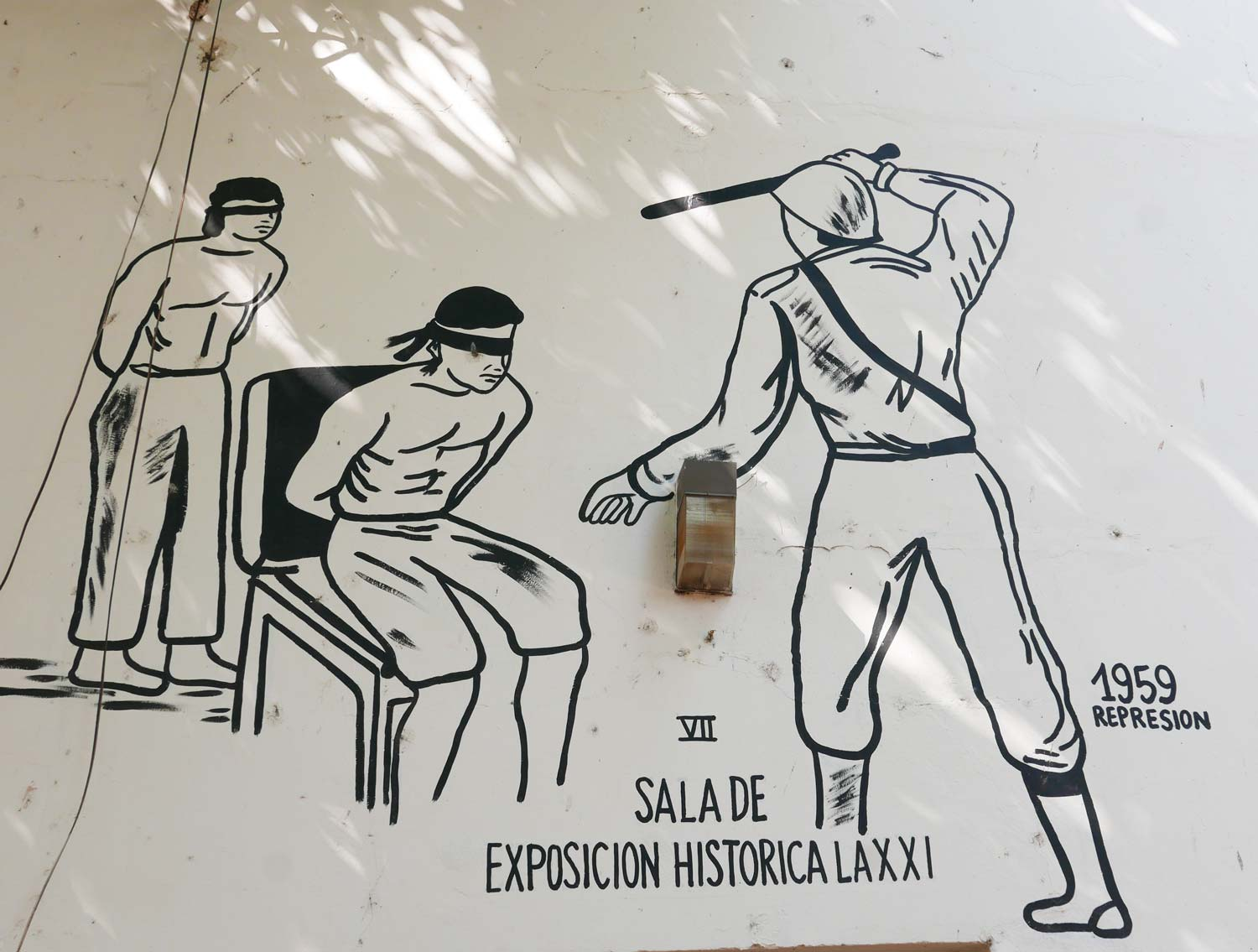Mural in museum of Traditions and Legends in Leon, Nicaragua