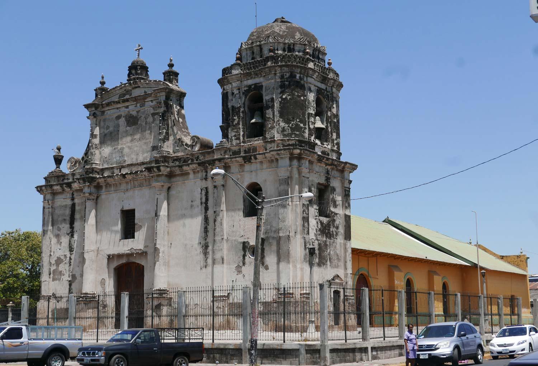 San Juan Apostol church in Leon, Nicaragua