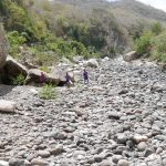 Rocks near the rear entrance of Somoto canyon. In rainy season this is a no-go area