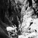 The gorge in the middle part of Somoto canyon