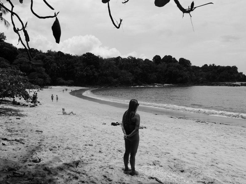 Playa Espadilla Sur in Manuel Antonio national park
