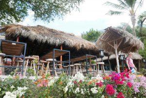 Beach bar at Laguna de Apoyo