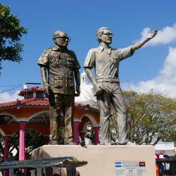 Carlos Fonseca statue in Morazan Park in Matagalpa