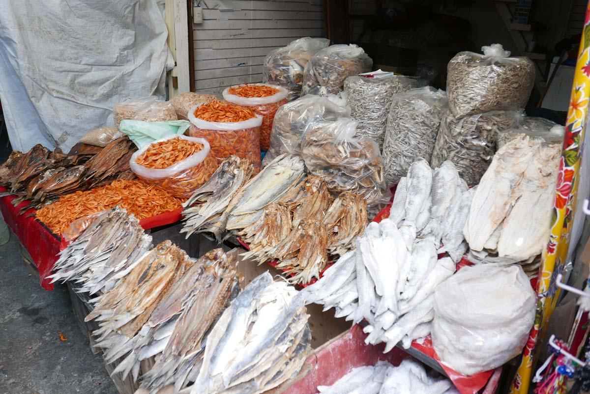 Fish market in Oaxaca city