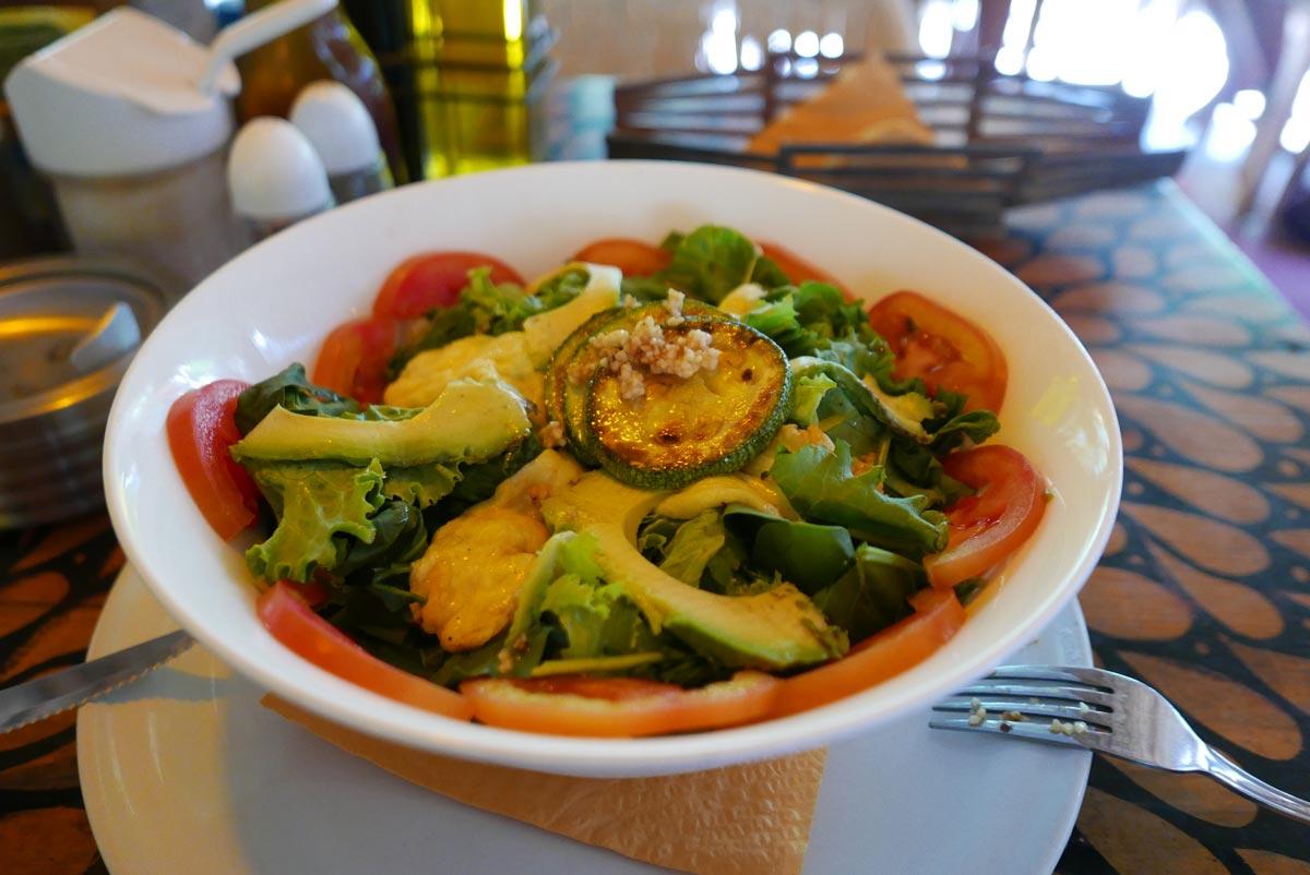 Food in the Punta Zicatela area of Puerto Escondido