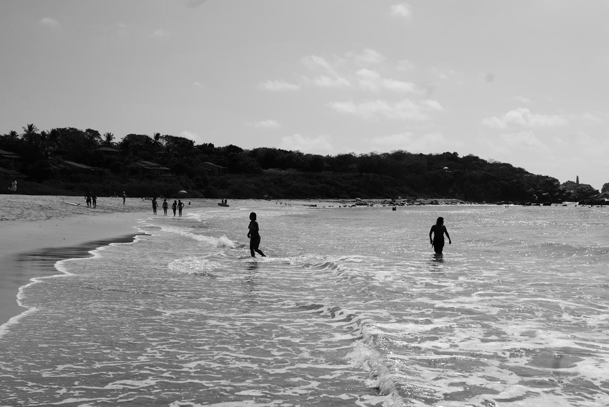 Punta Zicatela beach in Puerto Escondido