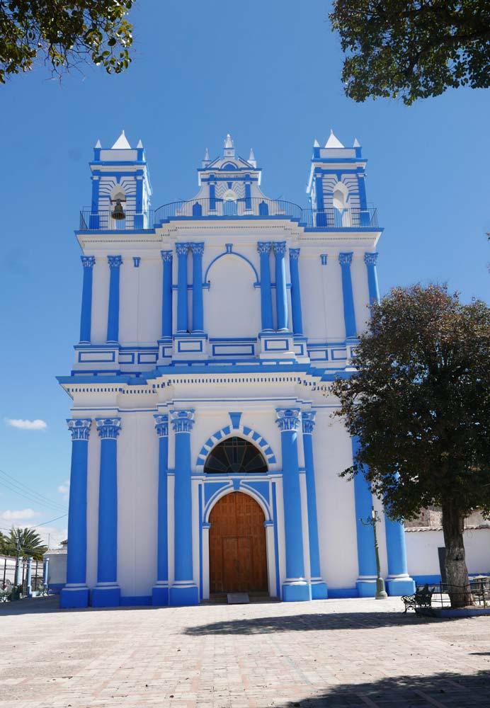 Small church in San Cristobal de las Casas
