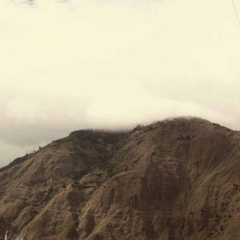 Mountain near Banos