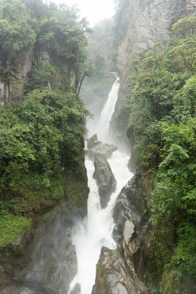 Pailon del Diablo waterfalls