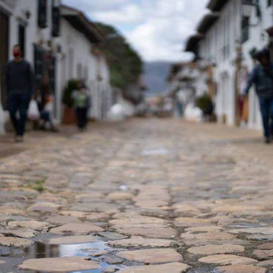 Street scene in Villa de Leyva