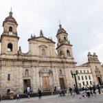 Cathedral on Bolivar square in Bogota