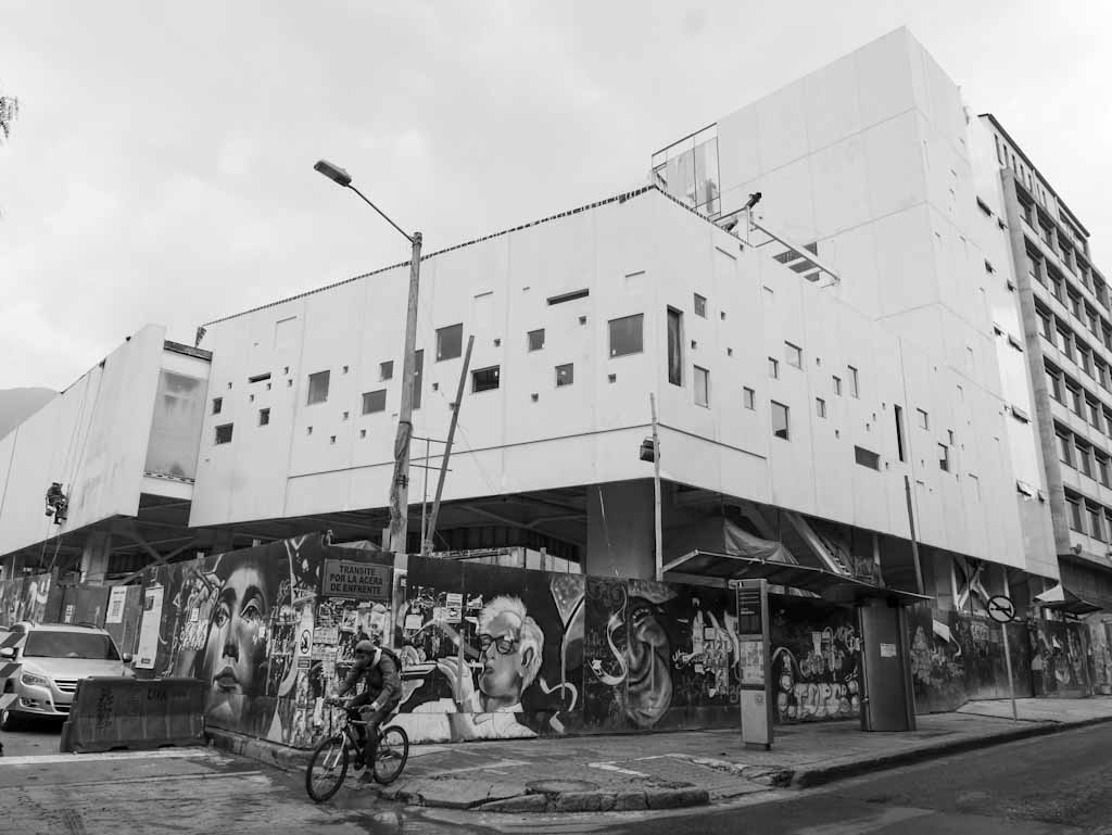 New art building in Bogota centre