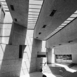 Atrium of Tamayo museum