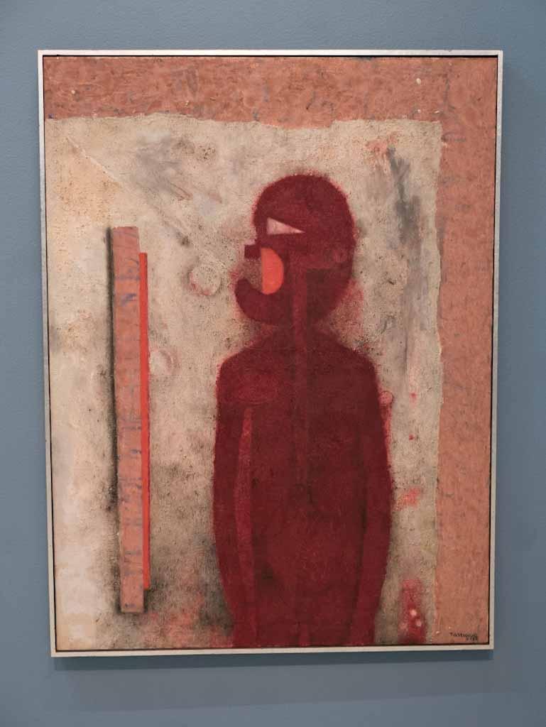 Painting of Rufino Tamayo