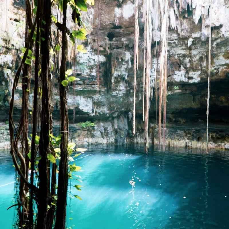 Cenote at Hacienda Uxman in Valladolid