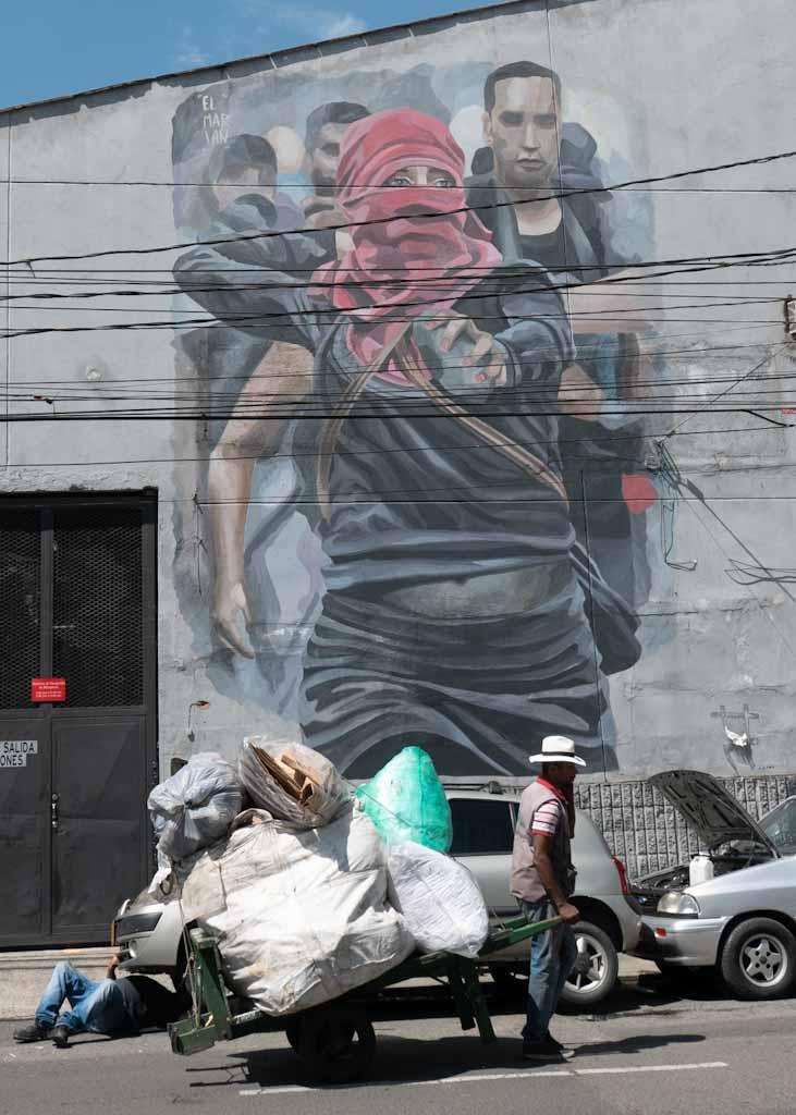 Street art meets real life