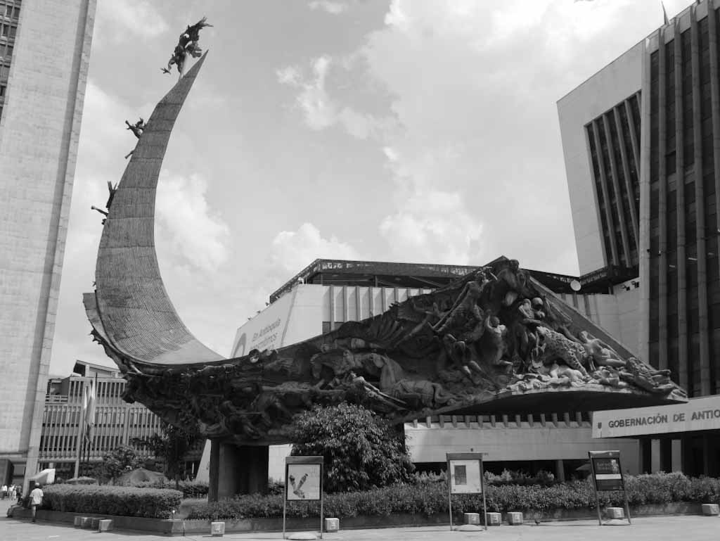 Monumento de la Raza in Medellin