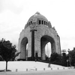 Revolution monument in Mexico City