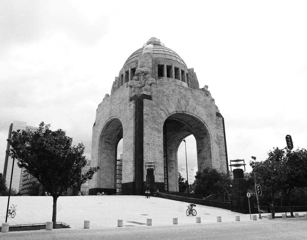 Revolution monument in Mexico City